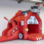 Bouncy+castle+with+slide+fire+truck 2205791 (1)